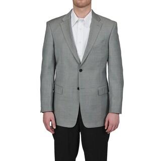 Tommy Hilfiger Men's Trim Fit Gray Sharkskin Suit Jacket (Option: 36s)