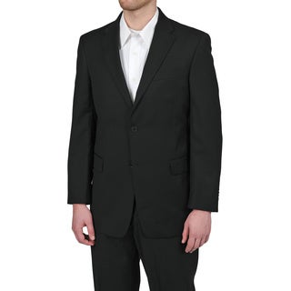 Tommy Hilfiger Men's Trim Fit Black Suit Jacket