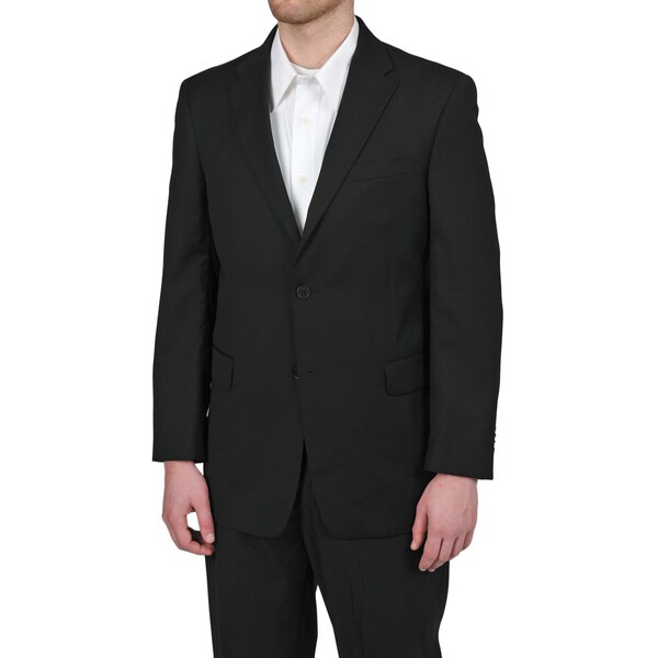 Tommy Hilfiger Men's Trim Fit Black Suit Jacket - Free Shipping ...