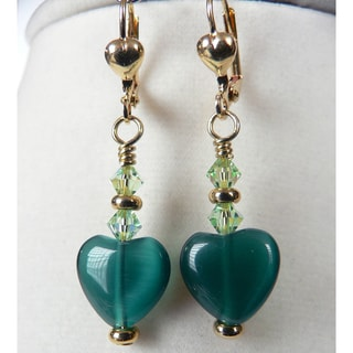 'Shannon' Heart Earrings