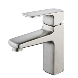 Charmant KRAUS Virtus Single Hole Single Handle Vessel Bathroom Faucet In Brushed  Nickel