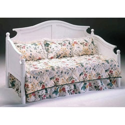 Somerville White Daybed Frame - Headboard and Sides