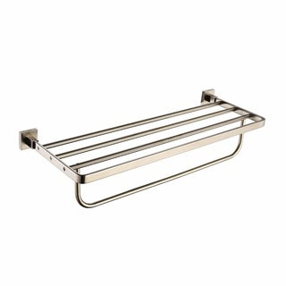 KRAUS Bathroom Accessories - Bath Towel Rack with Towel Bar