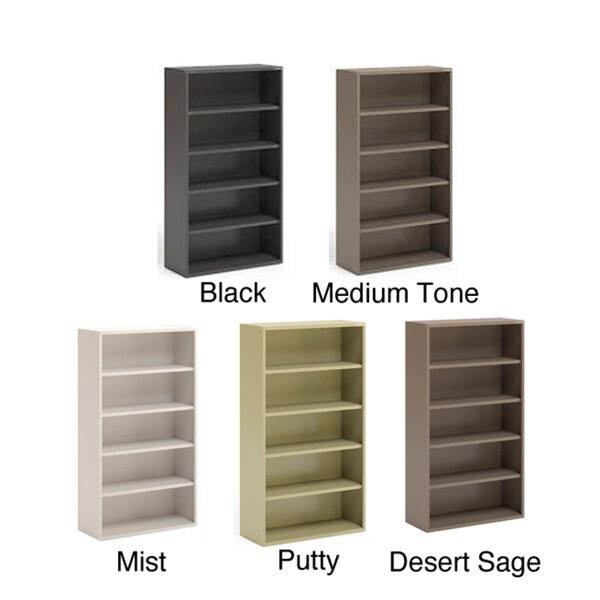 Mayline CSII 36-inch Wide All Steel 5-Shelf Bookcase