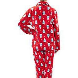 Leisureland Women's Panda Print Pajama Set - Thumbnail 1