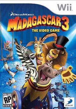 Wii - Madagascar 3