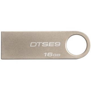 Kingston 16GB DataTraveler SE9 USB 2.0 Flash Drive - Champagne