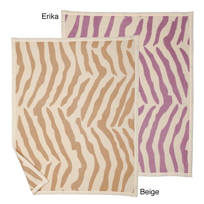 Bocasa Zebra Stripe Organic Baby Blanket