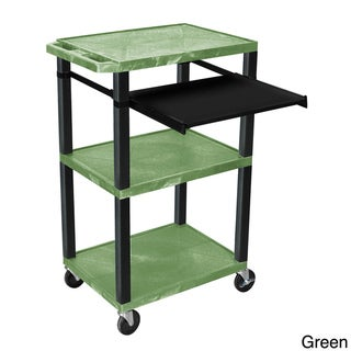 H.Wilson 42 inch High Open Shelf Presentation Stand