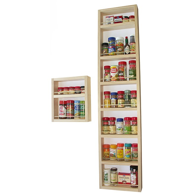 Shop Wg Wood Products Nine Shelf Two Piece Solid Wood