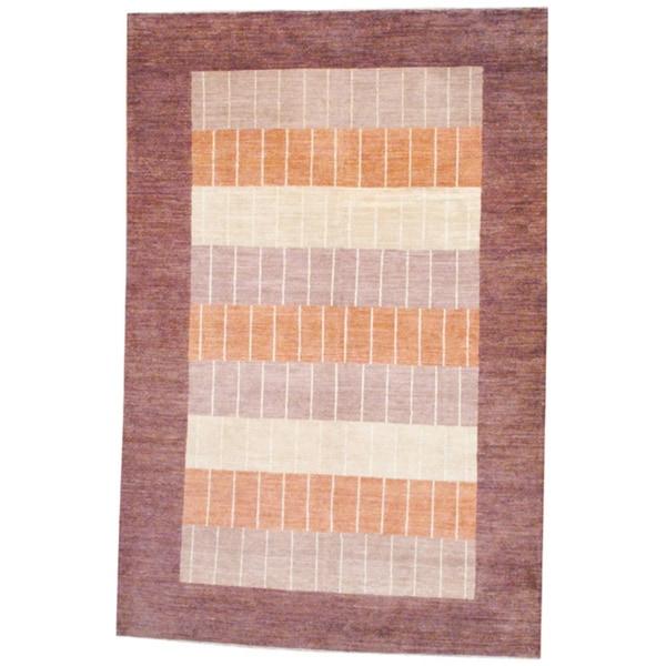Herat Oriental Afghan Hand-knotted Vegetable Dye Wool Rug - 6'4 x 9'8