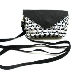 Handmade Poptop Cell Phone Shoulder Bag (Mexico)