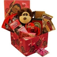 I'm Wild About You Valentine's Day Chocolate Gift Basket