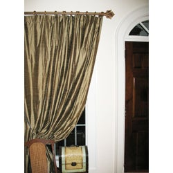 Versailles Historical Gold Wood Curtain Rod Set Free