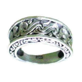 Handmade Sterling Silver 'Refinement' Ring (Indonesia)