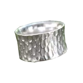 Handmade Sterling Silver Men's 'The Original' Ring (Indonesia)