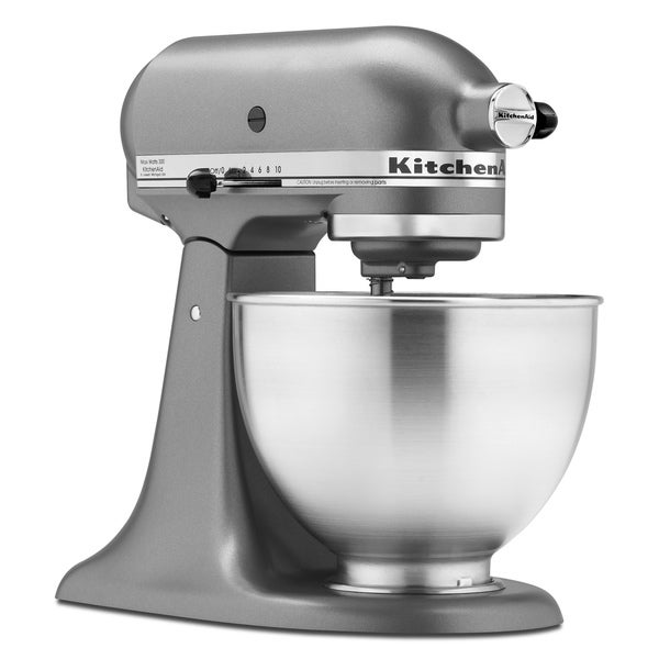 Shop Kitchenaid Ksm85pssl 4 5 Quart Silver Mixer Free