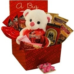 Shop A Big Kiss For You Valentines Day Chocolate And Candy Gift Box
