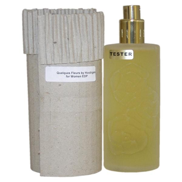 Houbigant Quelques Fleurs Women's 3.4-ounce Eau de Parfum Spray (Tester)