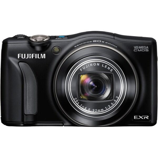 Fujifilm FinePix F750EXR 16 Megapixel Compact Camera - Black