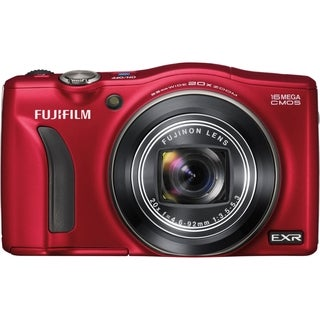 Fujifilm FinePix F750EXR 16 Megapixel Compact Camera - Red