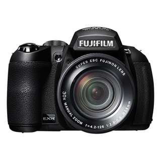 Fujifilm FinePix HS25EXR 16 Megapixel Bridge Camera - Black