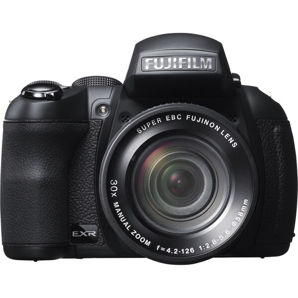 Fujifilm FinePix HS30EXR 16 Megapixel Bridge Camera - Black
