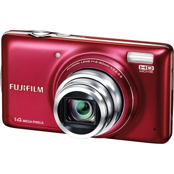Fujifilm FinePix T350 14 Megapixel Compact Camera - Red