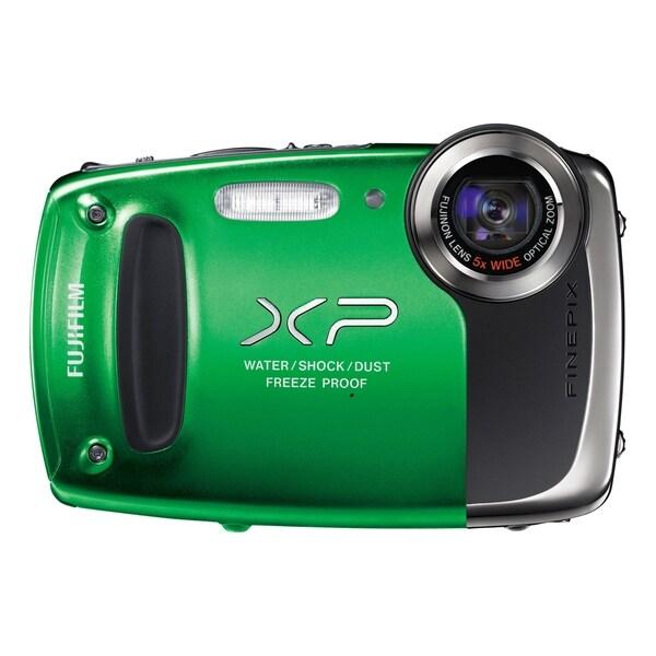 Fujifilm FinePix XP50 14.4 Megapixel Compact Camera - Green