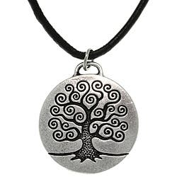 Carolina Glamour Collection Antiqued-pewter 'Tree of Life' Celtic-style Pendant Necklace|https://ak1.ostkcdn.com/images/products/6476809/CGC-Antiqued-pewter-Tree-of-Life-Celtic-style-Pendant-Necklace-P14071110.jpg?impolicy=medium