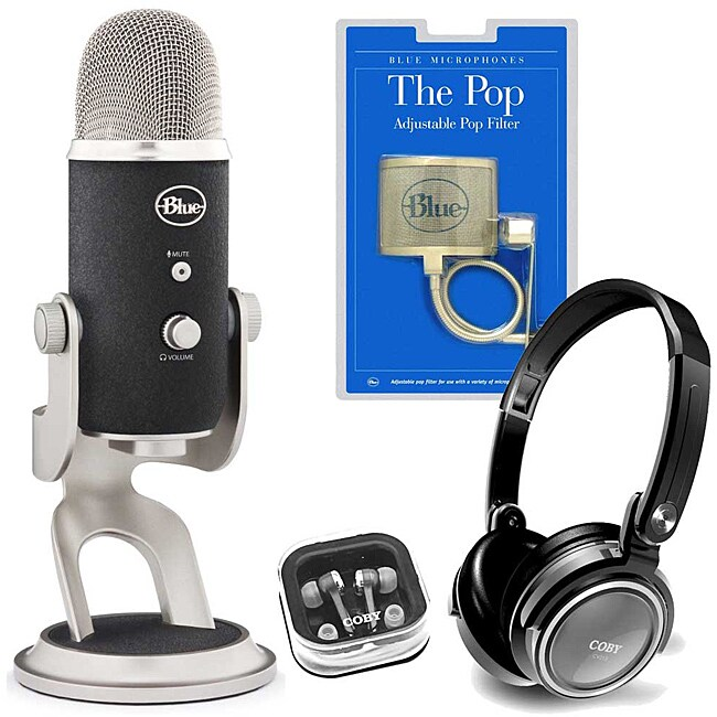 Blue Microphones Yeti Pro Condenser Microphone Kit