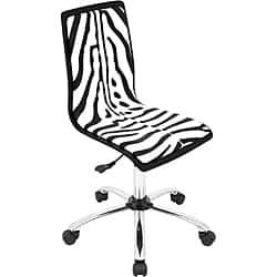 Printed Zebra Computer Chair|https://ak1.ostkcdn.com/images/products/6477409/Printed-Zebra-Computer-Chair-P14071457.jpg?impolicy=medium