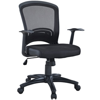 Modway Black Mesh Office Chair