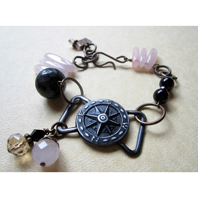 Vintaj Brass Compass Bracelet