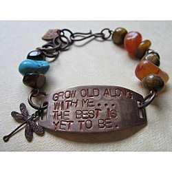 'Grow Old With Me' Vintage Bracelet