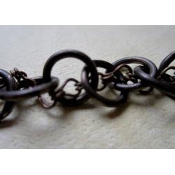 Vintage Brass 'Love Never Fails' Bracelet
