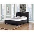 Oxford-X King-size Leather Platform Bed