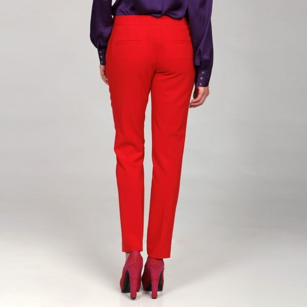 Collection Womens Red Pants Pictures - Reikian