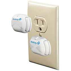 Safety 1st Deluxe Press Fit Outlet Plugs (Pack of 16)