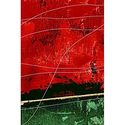 Maxwell Dickson 'By A Thread' Abstract Canvas Wall Artwork