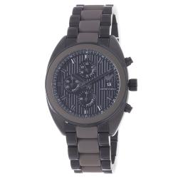 Emporio Armani Men's 'Sport' Black PVD Stainless Steel Bracelet Watch