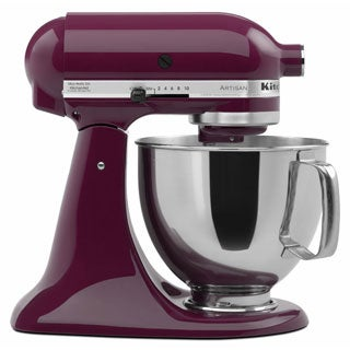 KitchenAid RRK150BY Boysenberry 5-quart Artisan Tilt-Head Stand Mixer (Refurbished)