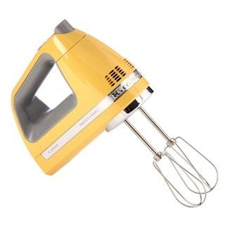 KitchenAid RRKHM920BF Buttercup 9-speed Digital Hand Mixer (Refurbished)