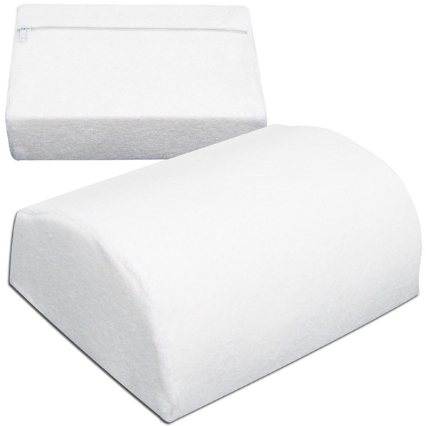 Contoured Remedy Memory Foam Lumbar Support Cushion