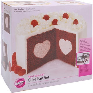 Wilton Tasty-Fill Heart Cake Pan Set