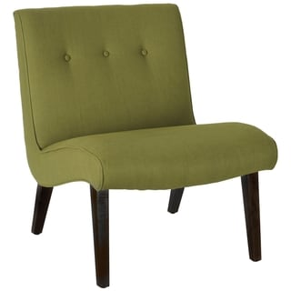 Safavieh Mid-Century Noho Green Lounge Chair