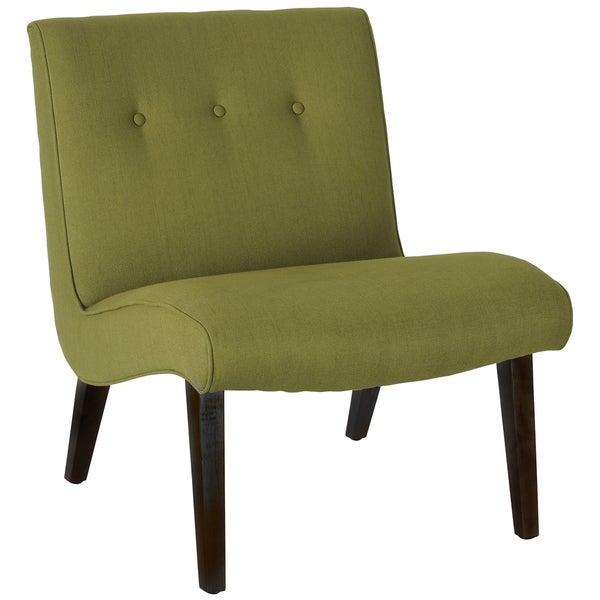 Safavieh Mid-Century Noho Green Lounge Chair