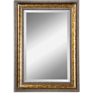 Uttermost Sinatra Vanity Wood Framed Mirror