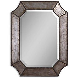 Carbon Loft Fuller Distressed Aluminum Rustic Framed Mirror