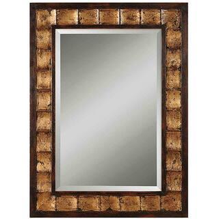 Uttermost Justus Distressed Mahogany Wood Framed Mirror|https://ak1.ostkcdn.com/images/products/6479438/P14072935.jpg?impolicy=medium